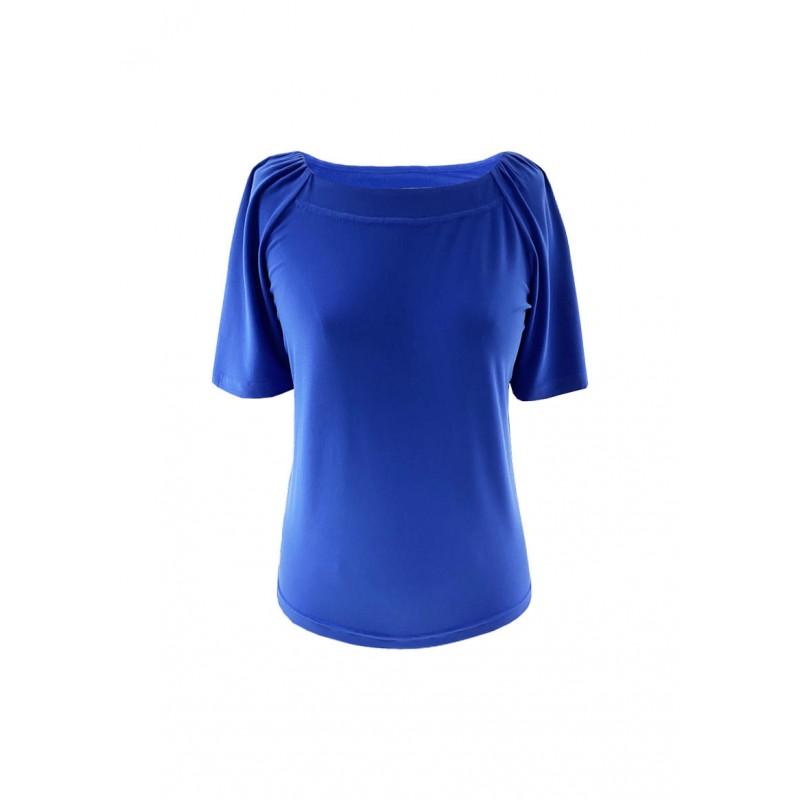 Top Vega en Jersey Bleu Royal