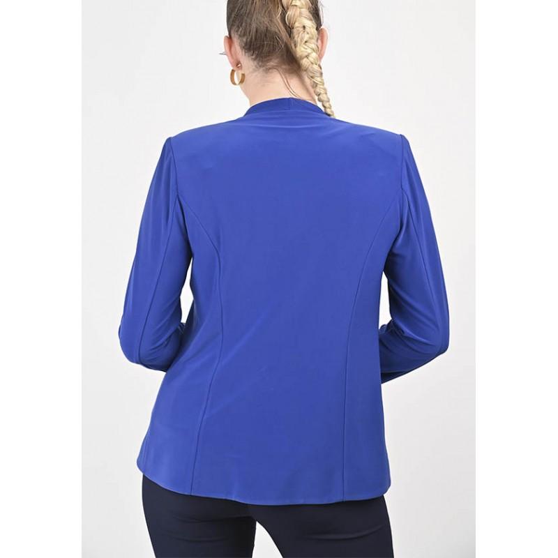 Twinset Léa Uni Top et Veste Bleu Royal
