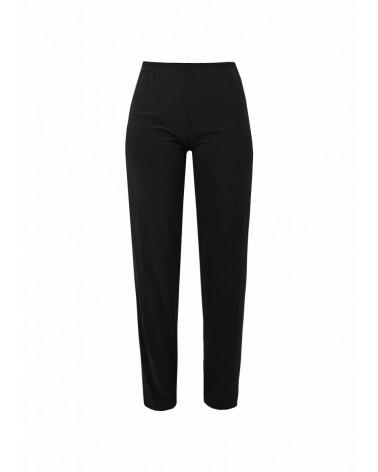 Pantalon Clara Droit en Jersey Noir