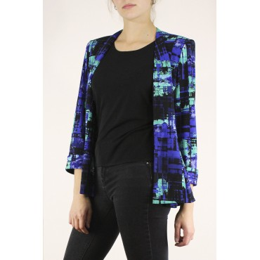 Mélina jacket in printed...